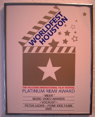 platinum award